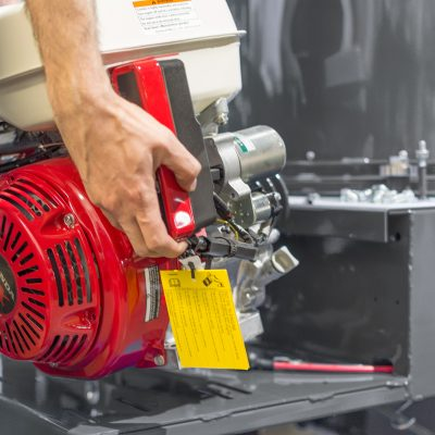 Assembling precision parts